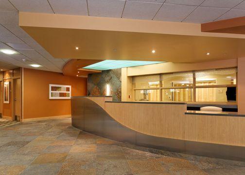 Jain Malkin Inc Case Studies Triage Reception Design Eisenhower Medical Center Hospital Design Healthcare Design Design