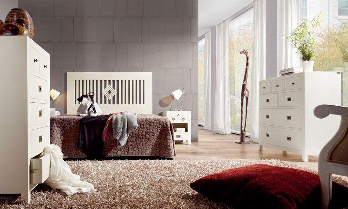 Pin de artesania y decoracion l c en muebles acabados en for Muebles romanticos blancos