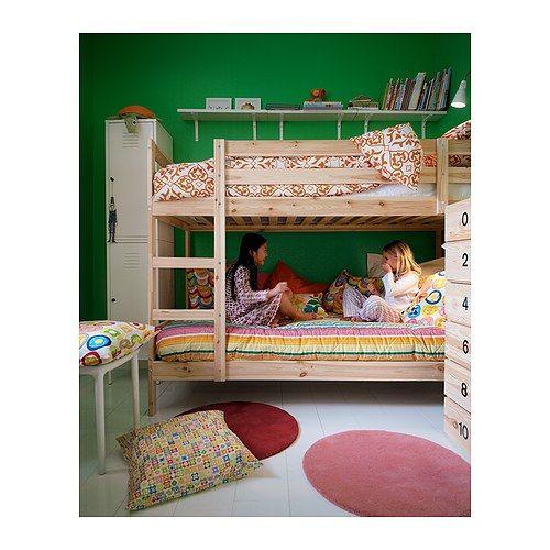 MYDAL Struttura per letto a castello, pino | Ikea, Rosso e Camerette