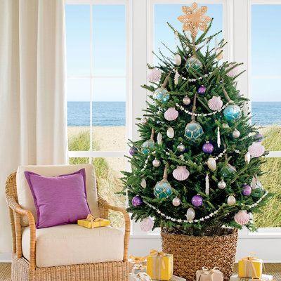 How to Decorate a Coastal Christmas Tree Coastal christmas - coastal christmas decorations