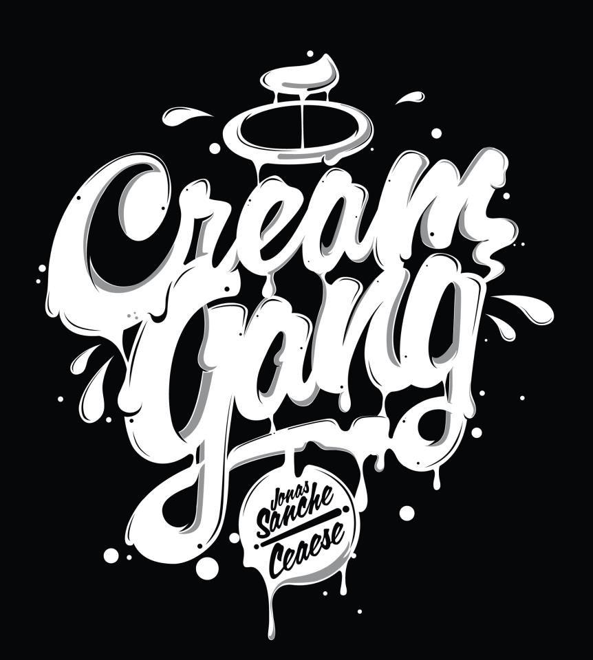 Cream Gang Tipography