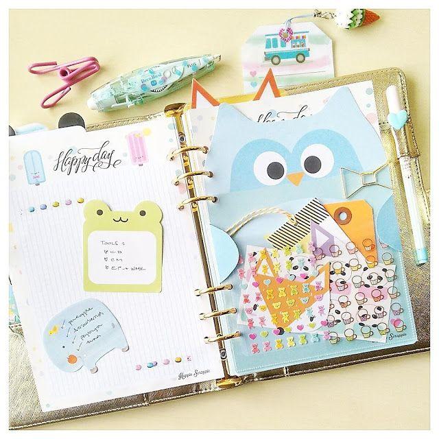 Happiness is Scrappy: Ideas for using some of your Happie Planner Kit supplies / Ideas para usar tus artículos de tu kit de Happie Scrappie