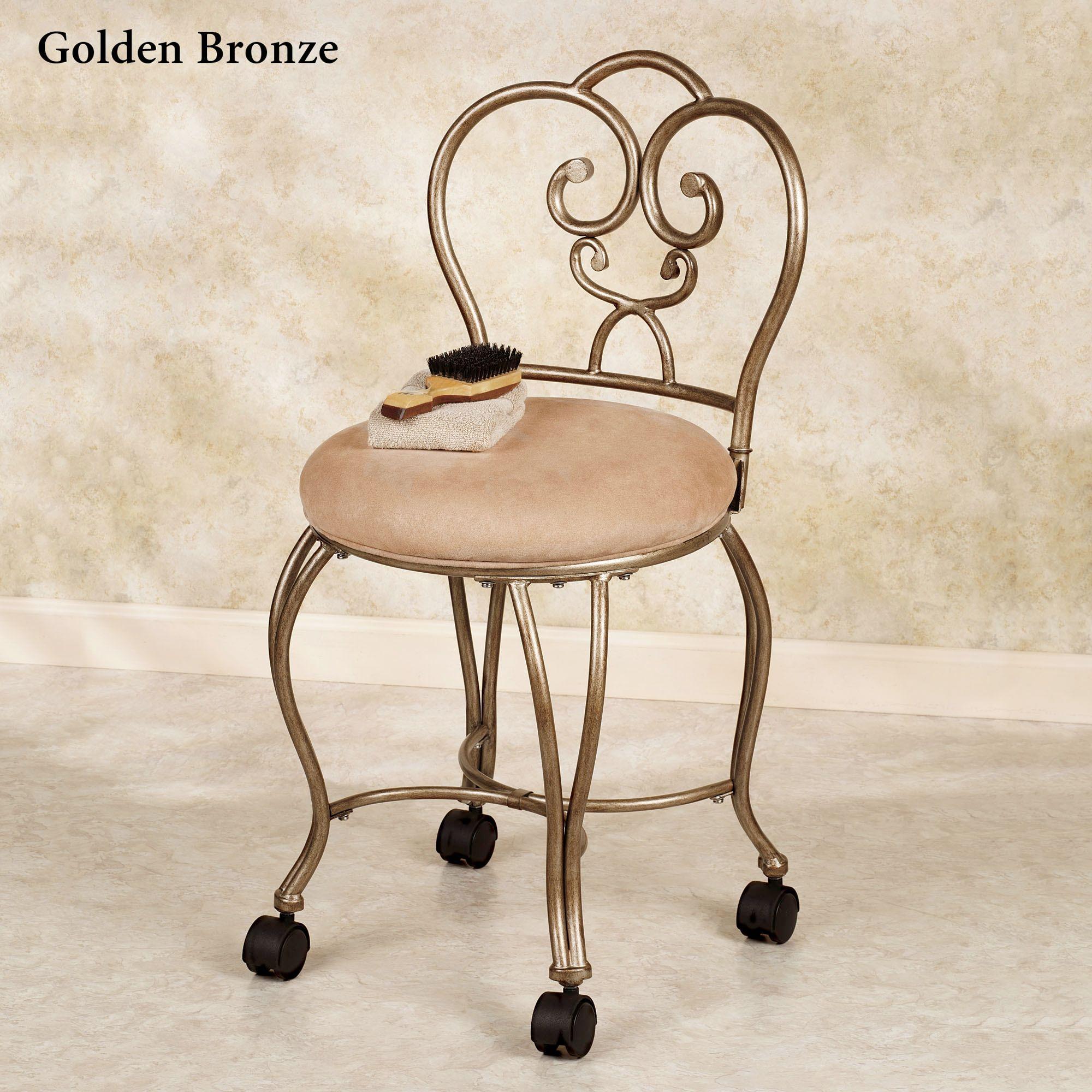 Lecia vanity chair vanity chair chair shabby chic