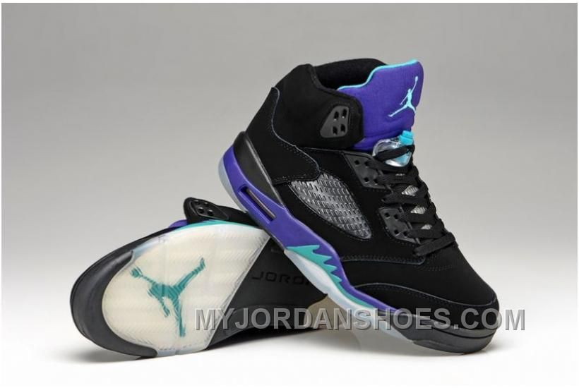 free shipping 72e7c dfcdd Nike Air Jordan Retro 5 V Supreme Black Red Supreme Mens Shoes HGbKj ...