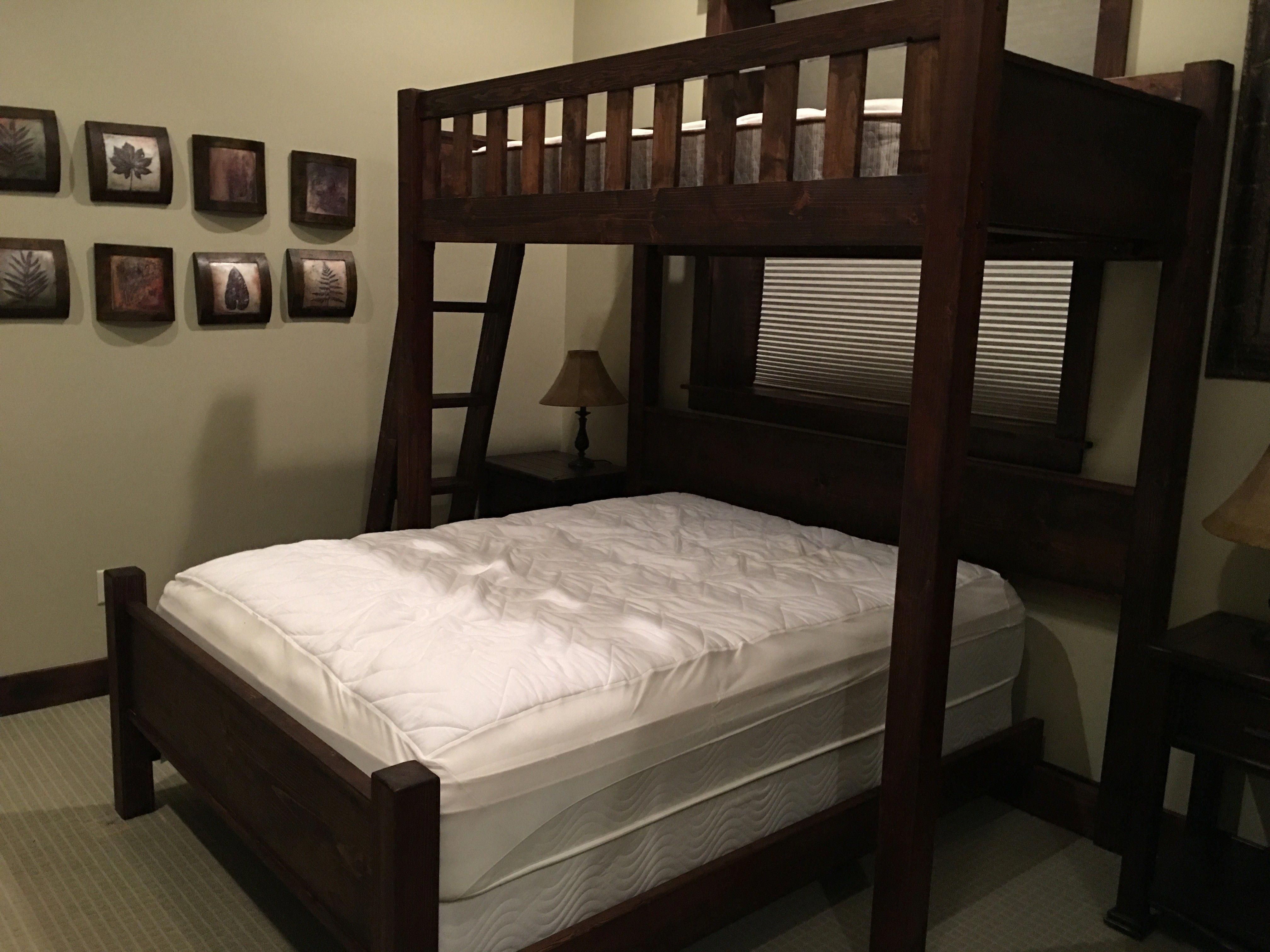 The Texas Promontory Set Twin Loft Over Queen With Headboards