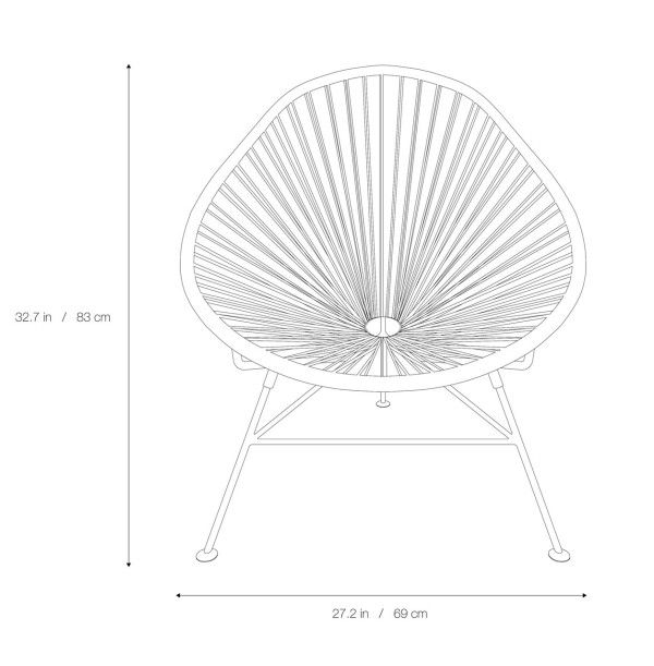 Sedie A Sdraio Dwg.Acapulco Chair 60th Anniversary Limited Edition Acapulco Sedie