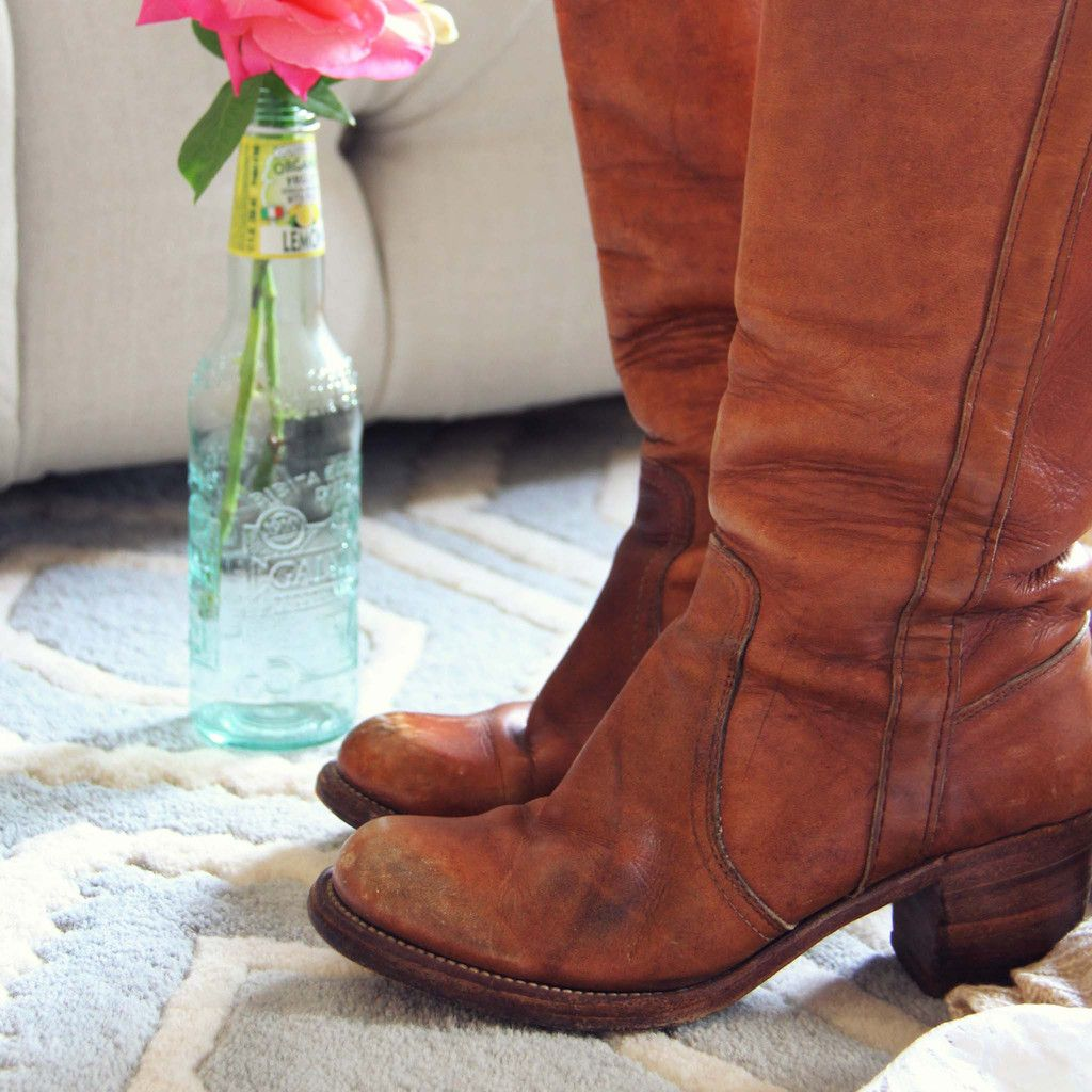 Vintage Frye Campus Boots, Rugged Vintage Leather Boots from Spool 72. | Spool No.72