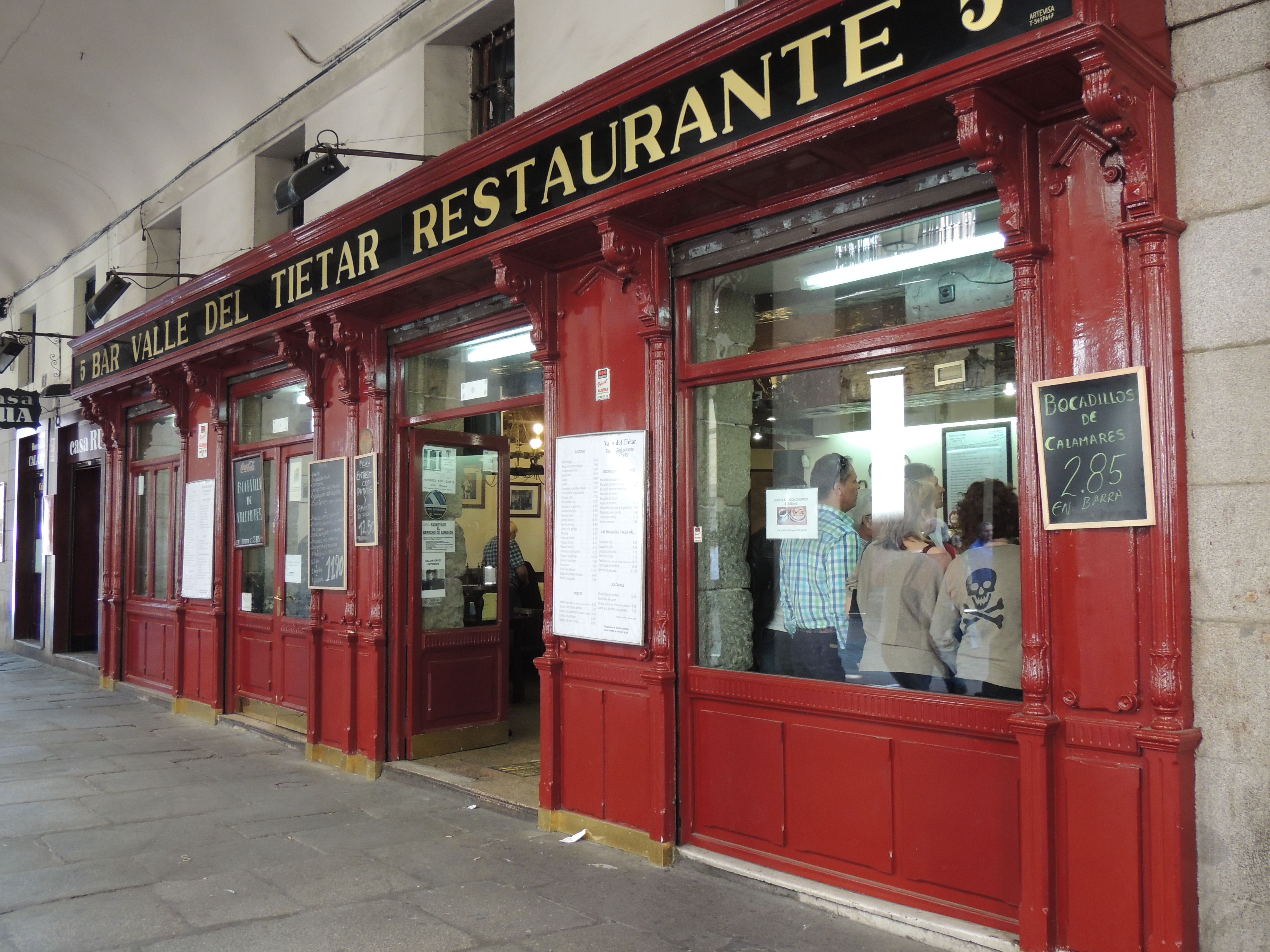 Madrid, de bares