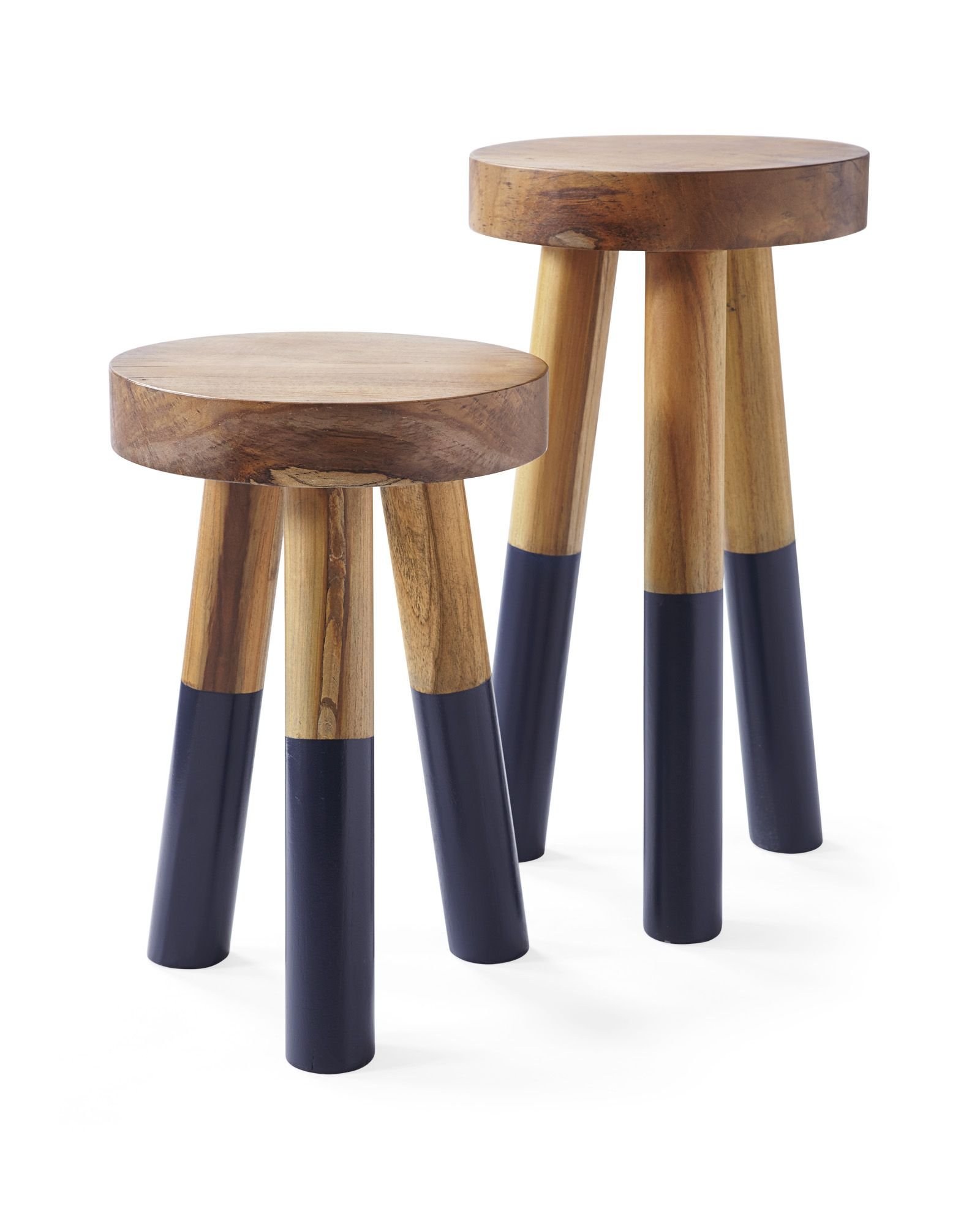 Dip Dyed Stools Dip Dyed Stools Stool Glossy Paint