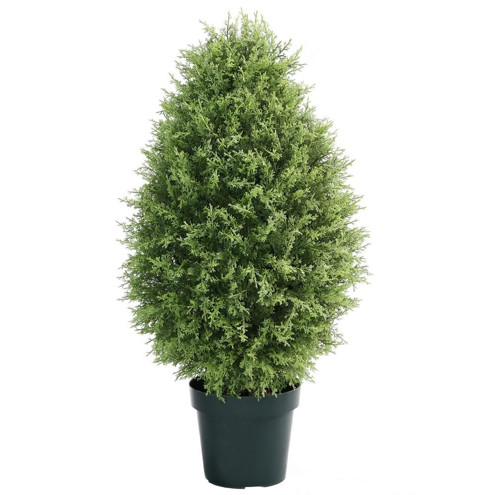 National Tree Company 40 in. Cypress Tree LYS840 Potted