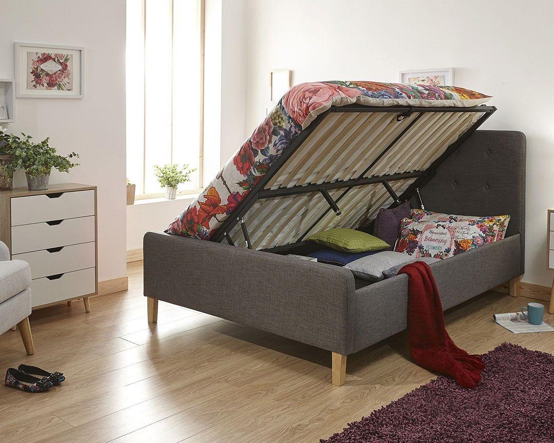 Astounding Milan Bed Company Ashborne 3Ft Single Ottoman Bed Own Home Creativecarmelina Interior Chair Design Creativecarmelinacom