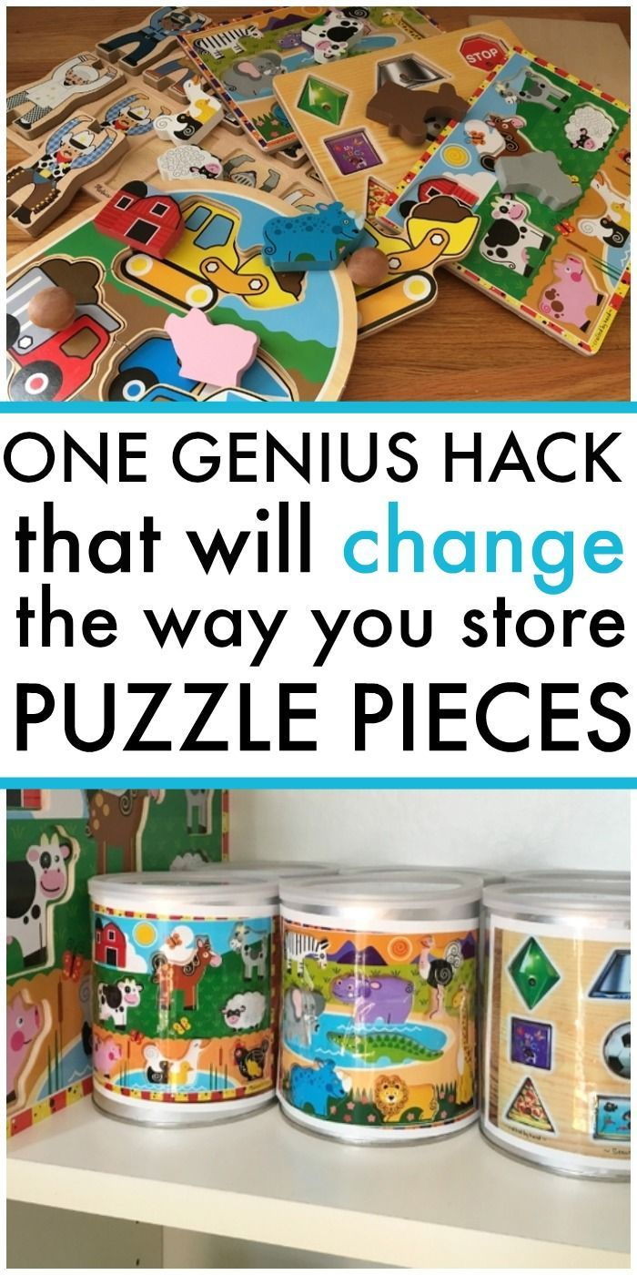 One Genius Hack That Will Change the Way You Store Puzzles — Days With Grey