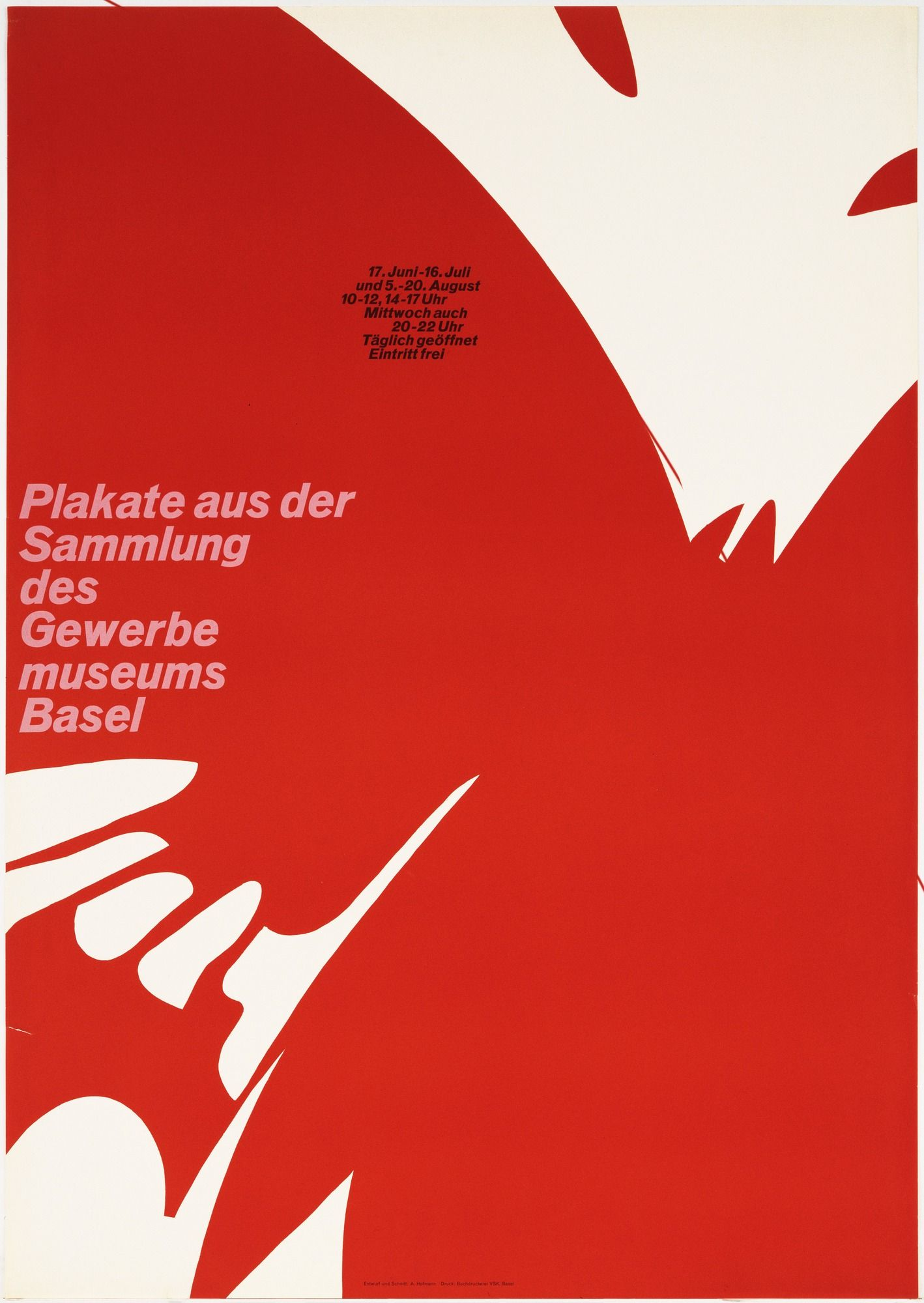 Armin hofmann plakate aus der sammlung des gewerbe for Armin hofmann