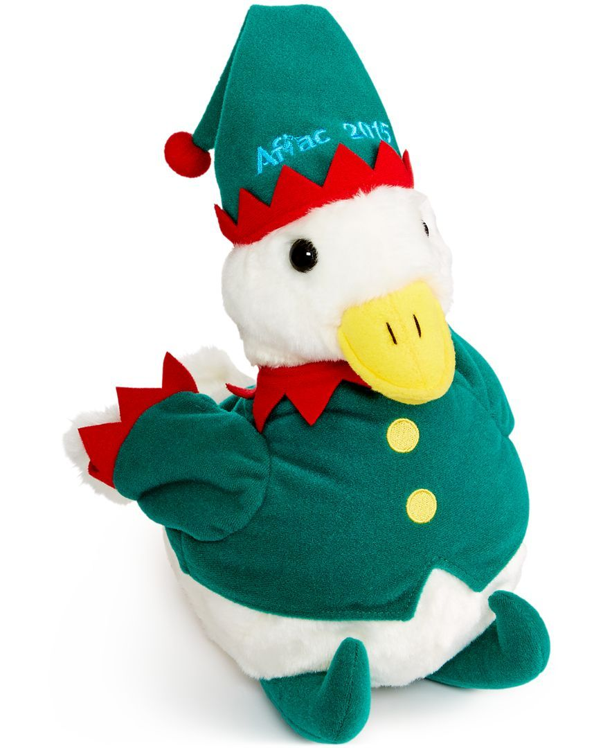 """Aflac 10"""" Holiday 2015 Plush Toy Duck"""