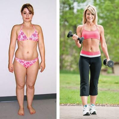 Lose fat first and then build muscle