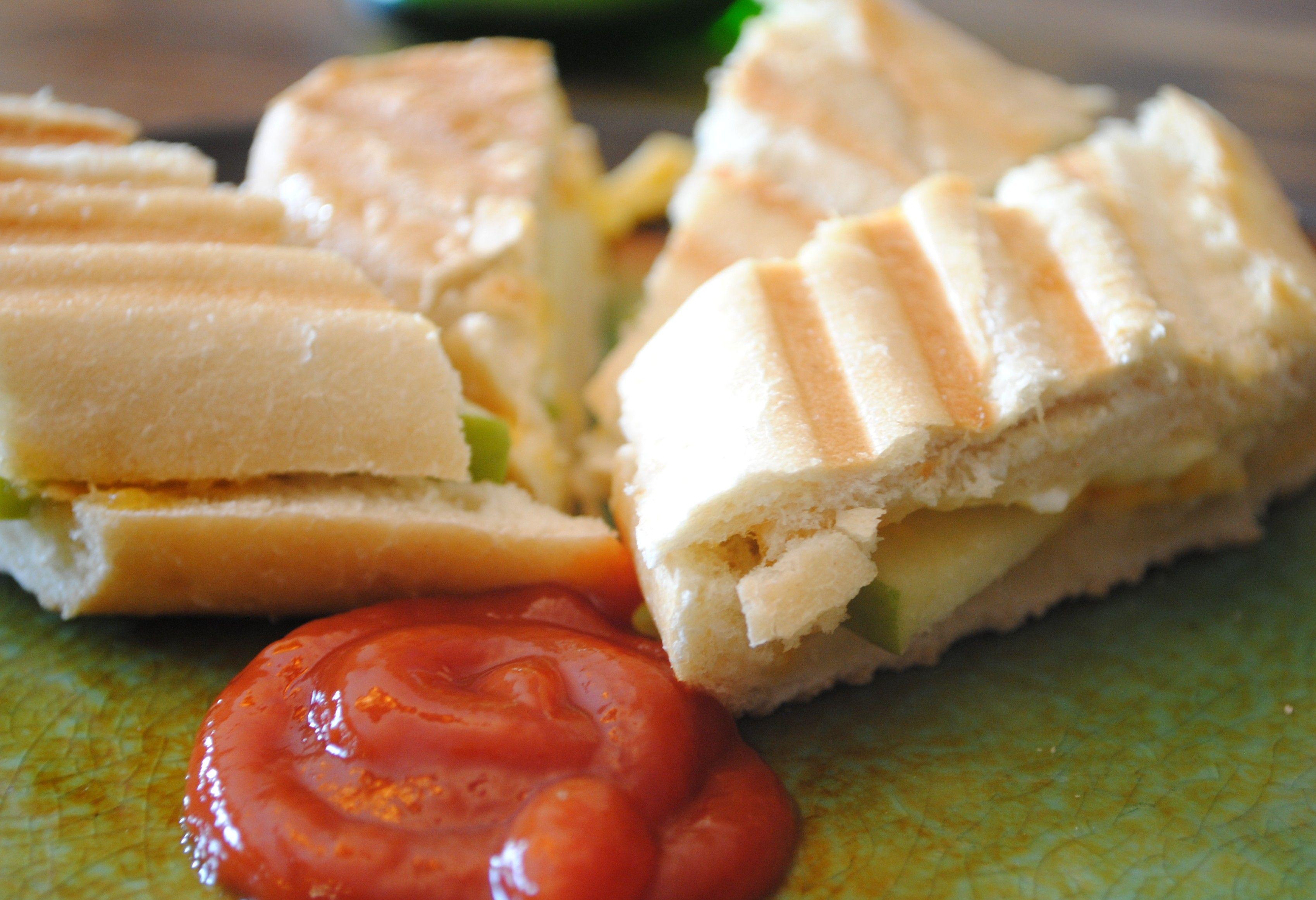 3 Cheese apple Panini