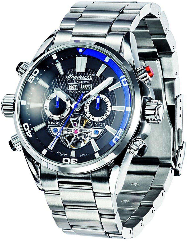 comprar online fb54d 8cc97 Ingersoll IN1507BKBL - Reloj para hombres: Amazon.es ...