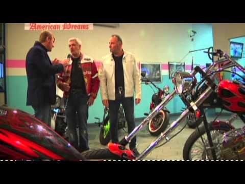 Ruote Americane - Mauro Valli : Le Moto di American Dreams per BIKE EXPO...