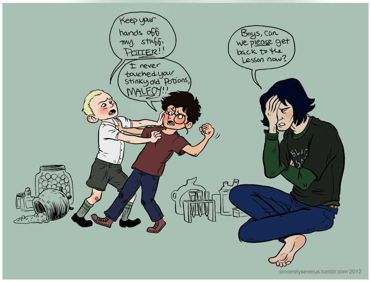 Awe Daddy Snape I Want To Know How This Would Ve Happened Harry Potter Funny Harry Potter Pictures Harry Potter Funny Pictures