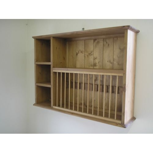 Pine wall plate rack. W91.5cm Made by our own carpenters at Jeremy Hill  sc 1 st  Pinterest & Pine wall plate rack. W91.5cm Made by our own carpenters at Jeremy ...