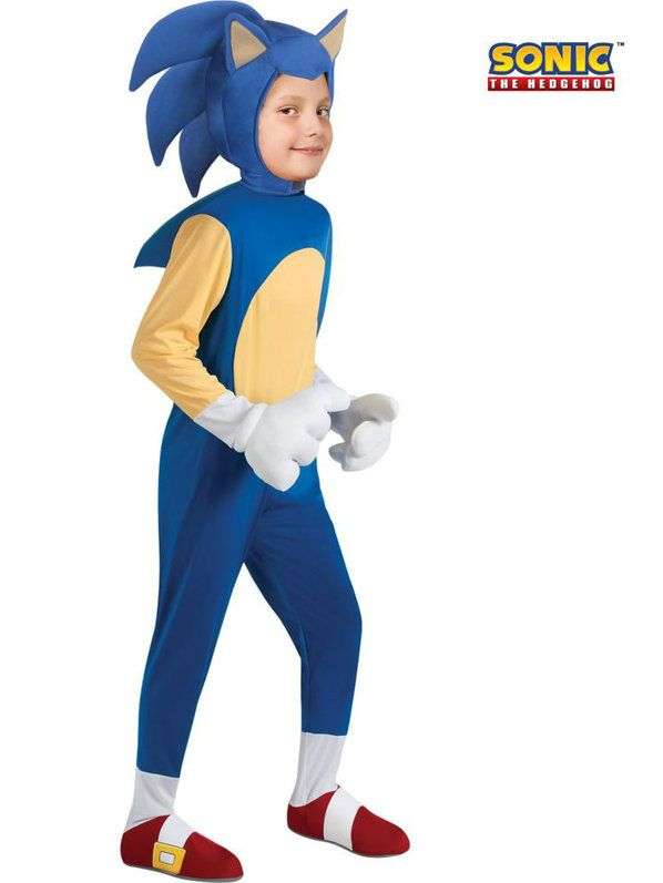 Check out Deluxe Sonic Costume - Sonic the Hedgehog Boys Costumes from  Wholesale Halloween Costumes f85987bf717