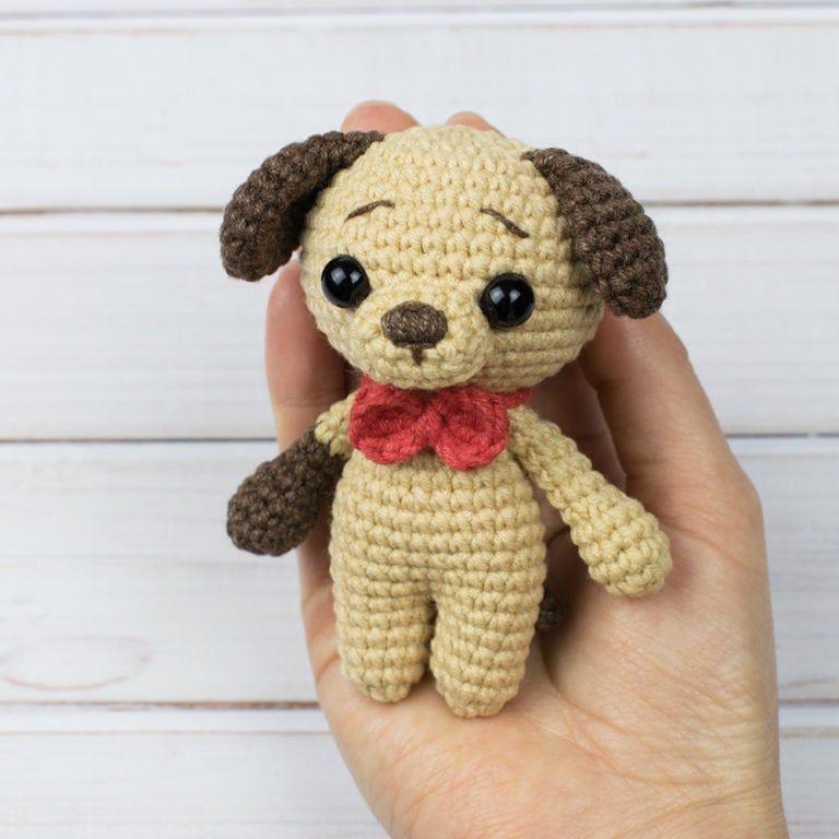 Free tiny crochet animal patterns - Amigurumi Today | 768x768