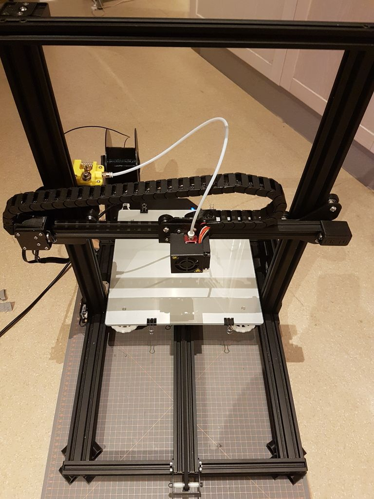 Cr 10 Cable Chain System By Sebb Dk 3d Printer 3d Printing 10 Things