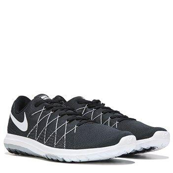 Nike Flex Fury 2 Running Shoe Black White - Womens Shoes