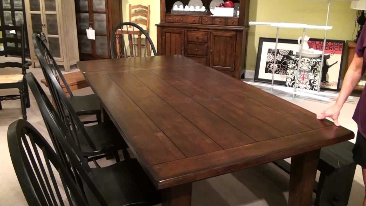 Found On Bing From Www Youtube Com Beautiful Dining Rooms Wood Dining Room Set Heirloom Dining Table