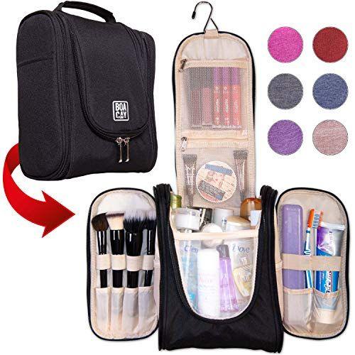 137e85b762 Premium Hanging Travel Toiletry Bag for Women and Men