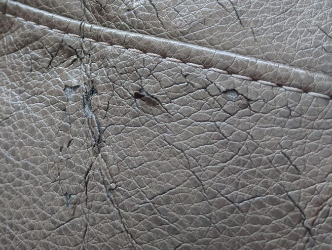 My Leather Couch Is Flaking