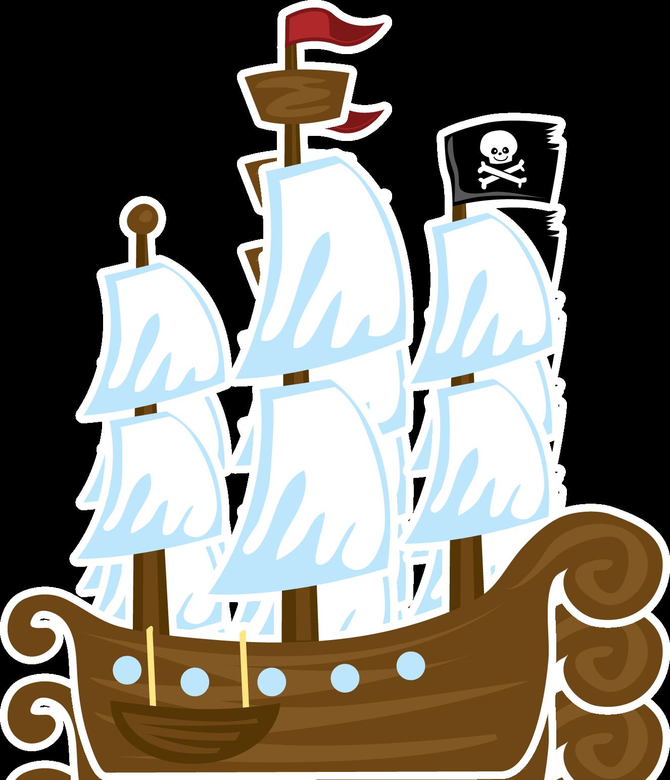 Idhauq2tub08j Png 1326 1544 Pirate Clip Art Clip Art Cartoon Pirate Ship