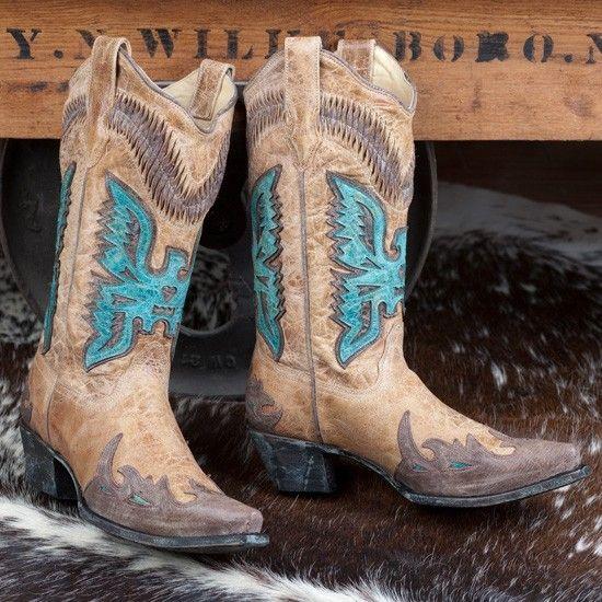 corral thunderbird boots