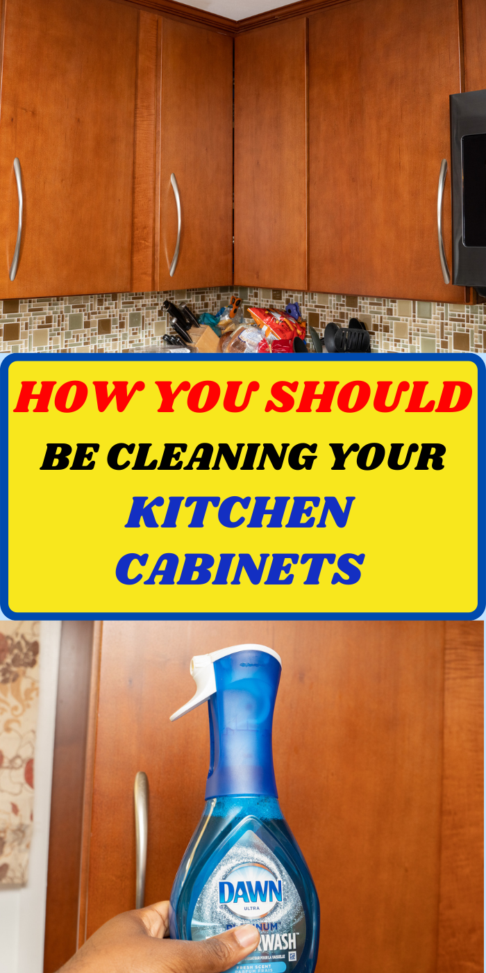 How To Clean Your Kitchen Cabinets In 2020 Cleaning Household Cleaning Tips Diy Cleaning Hacks