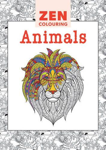 Zen Colouring Animals Amazoncouk GMC Editors 9781784940959