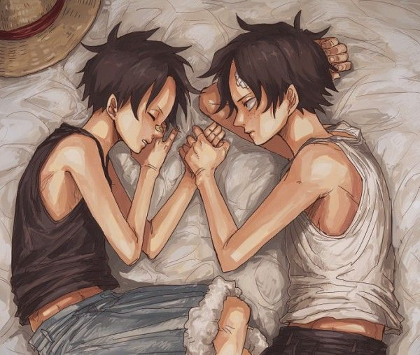 Ace and Luffy #one piece