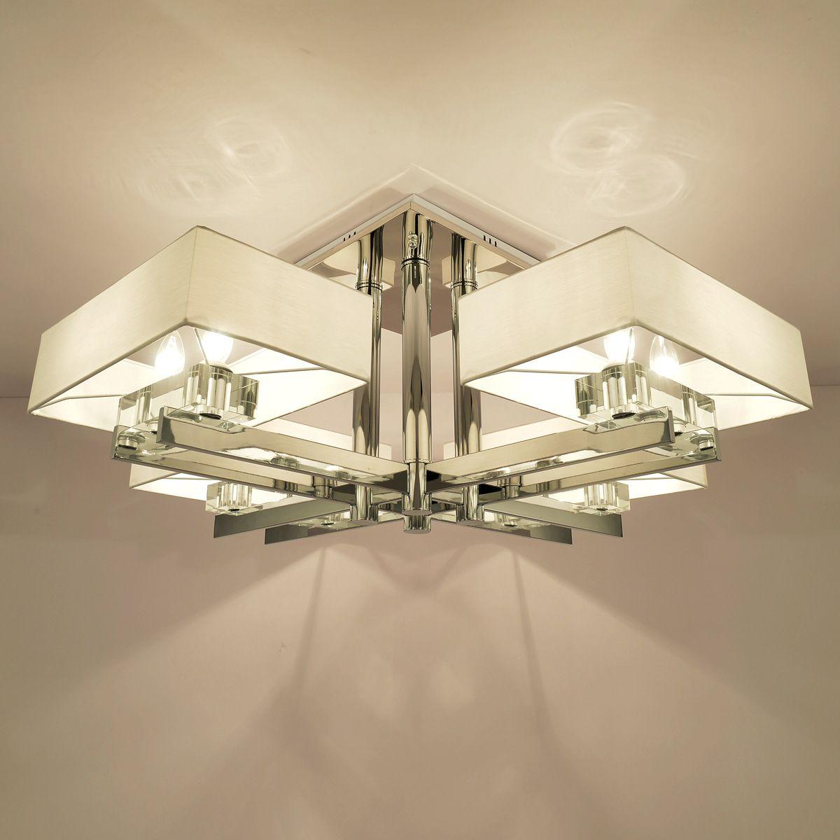 Eiceo) led woonkamer lamp moderne eenvoudige kristallen kroonluchter ...
