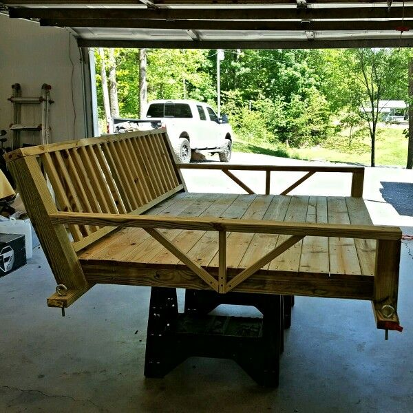 Queen Sized Daybed Swing Diy Porch Swing Bed Diy Porch Swing Diy Porch Swing Plans