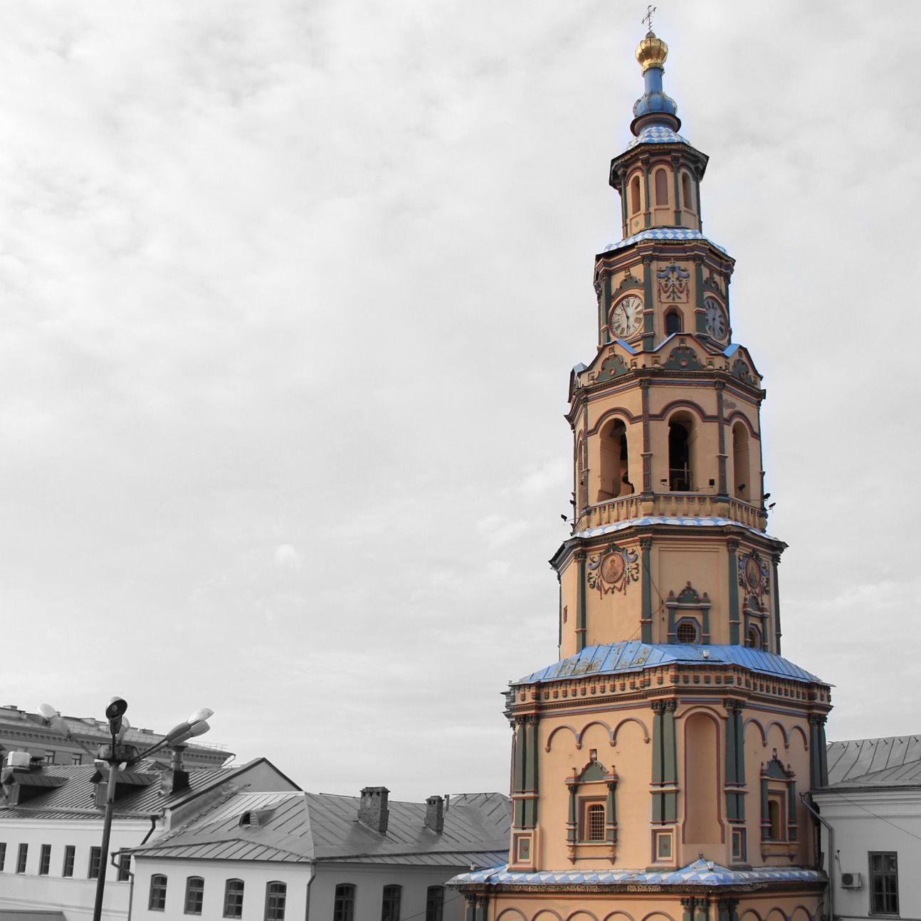 Peter and Paul Cathedral in Kazan, Russia Россия