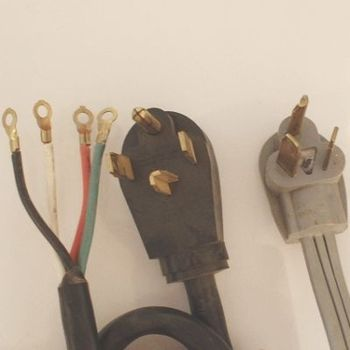 Converting A 4 Prong Dryer Cord To Fit A 3 Slot Outlet Dryer Plug Electric Dryers Clothes Dryer