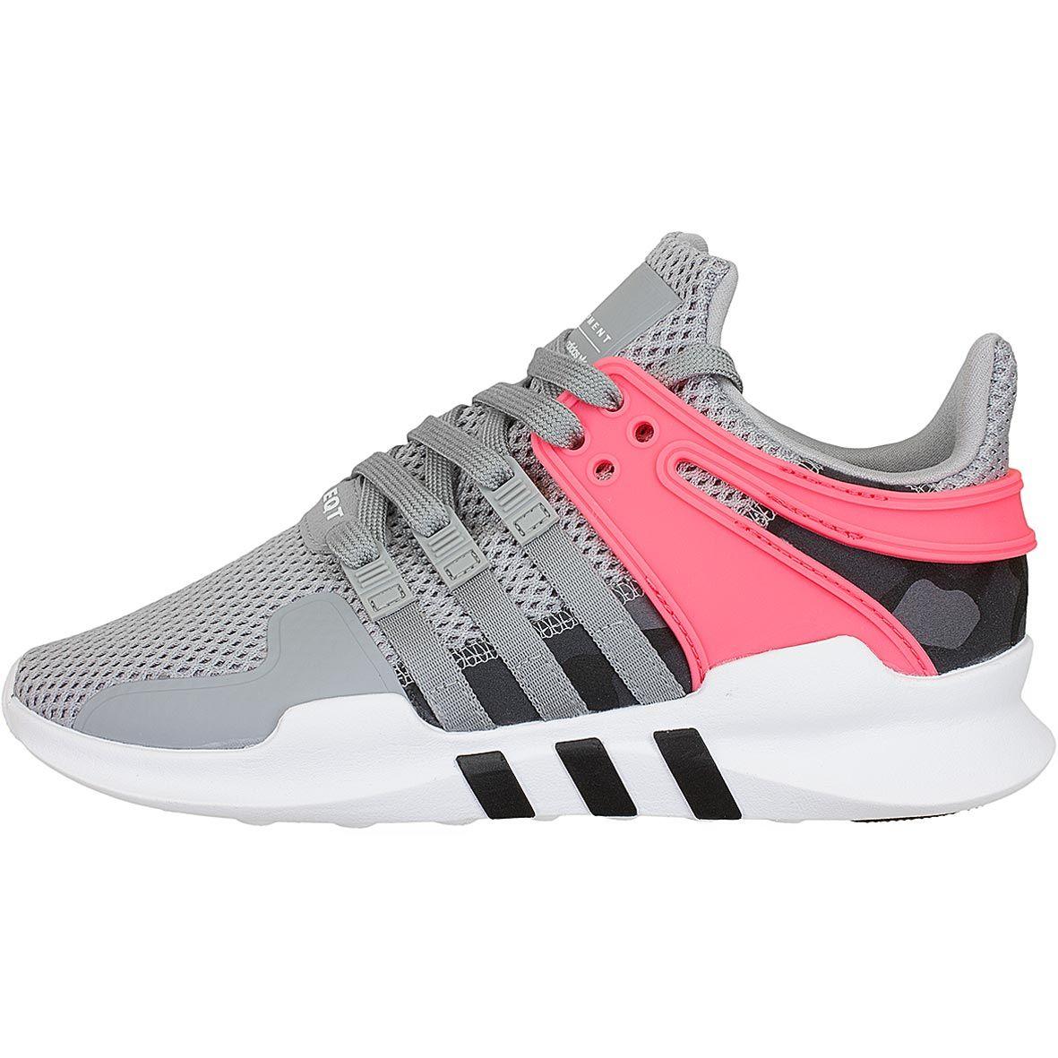 Adidas Originals Damen Sneaker Equipment Support ADV grau ... schwarz ... grau 53dbfd
