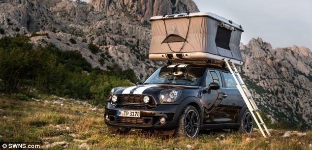 Mini Cooper Reveals C&er Concepts & Mini Cooper Reveals Camper Concepts | Mini countryman Rooftop and ... memphite.com