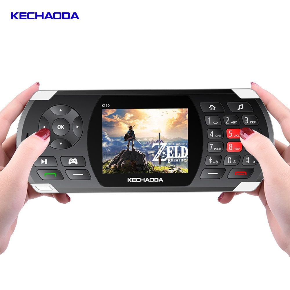 Kechaoda Long Standby Power Bank Game And Phone 2 In 1 Mobile Phone K110 2 8 Sc6531e 32mb 26