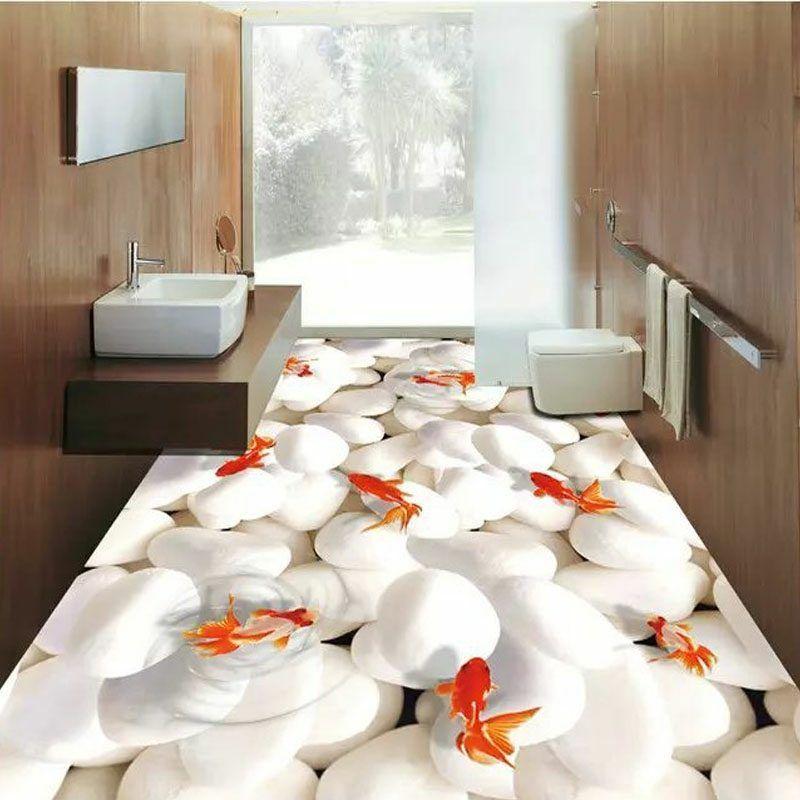 3d Fliesen Ideen Fur Das Badezimmer Badezimmer Bodenbelage Fliesen Diy Zenideen 3d Fliesen Fliesen Ideen