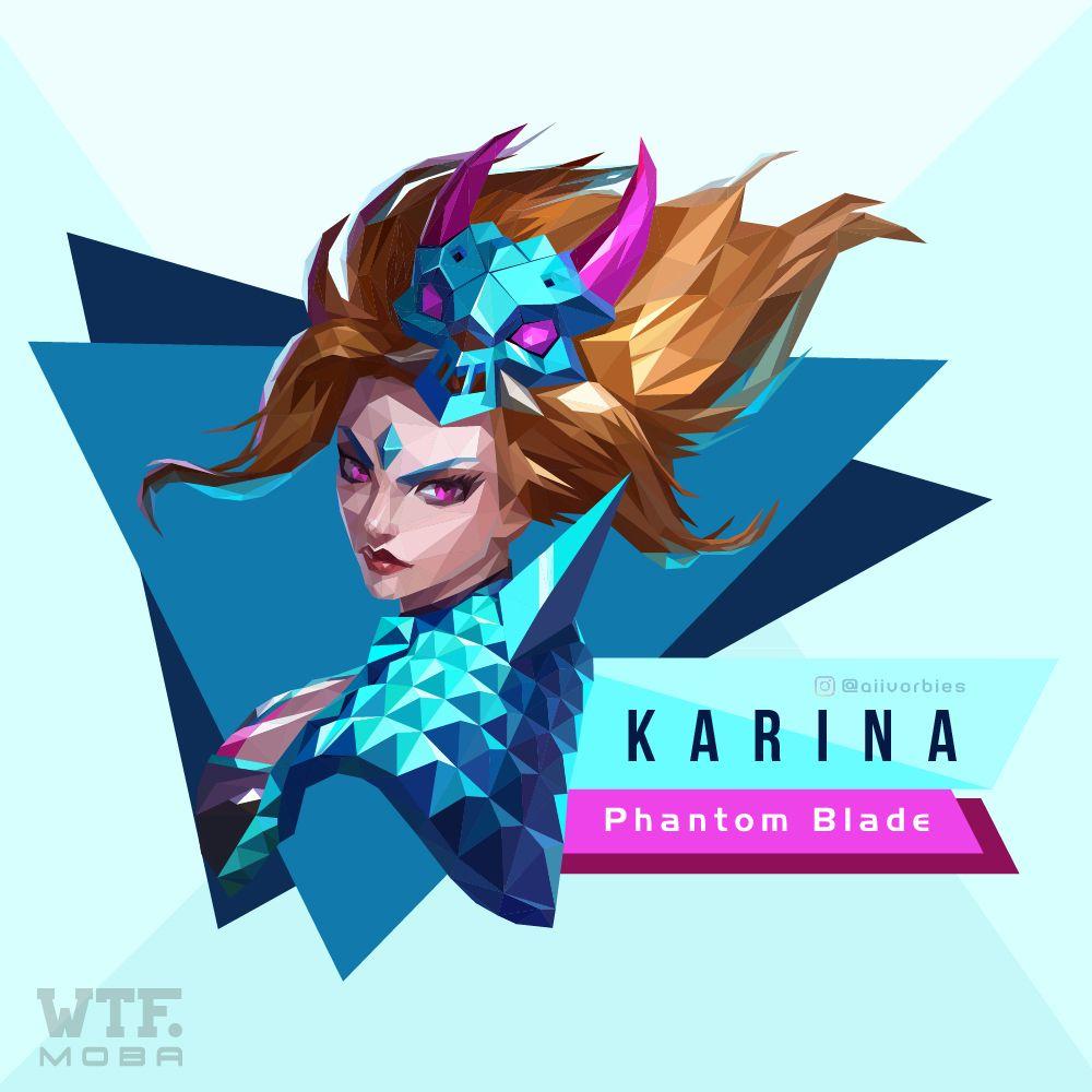 Karina Phantom Blade Mobile Legend Pinterest Mobile Legends