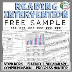 Reading Intervention Program: FREE SAMPLE