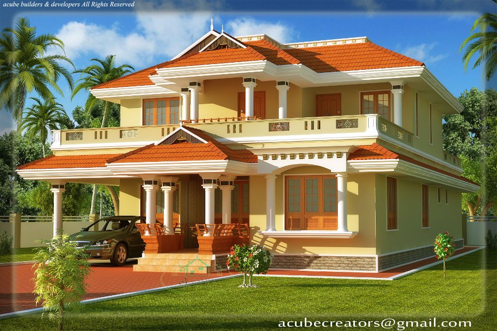 Traditional Homes Kerala Style Traditional House 2808