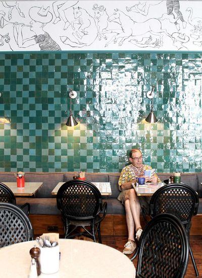Farm Girl Cafe, Portobello Road by Beata Heuman Ltd