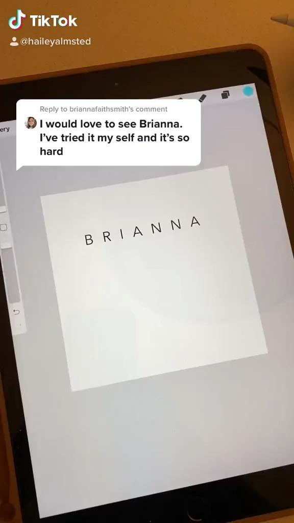 Brianna Name Logo Video Name Logo Youtube Channel Ideas Names