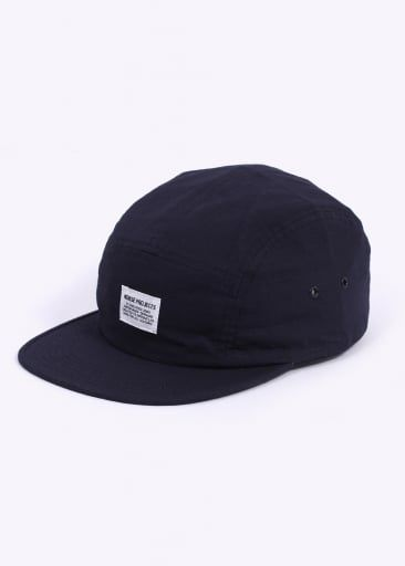 c5ad17872ec Norse Projects Ripstop 5 Panel Cap - Navy | NORSE PROJECTS S/S16 ...